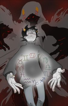Karkat and the Sufferer by elanor-pam