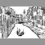 VENICE in Doodle art by kevinandy