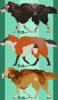 Mimic Sheep (Point Adoptables)(closed) by akitasilverwolf