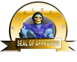 skeletor seal of approving by Archfiend-dux