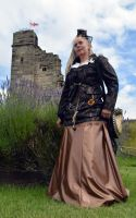 Steampunk at Tutbury Castle 2014 (4) by masimage