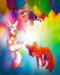 Balloon Party by Darkpaw2001