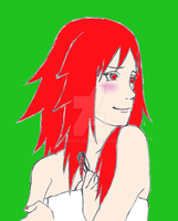 Karin is seducing - quick colo by Arasca