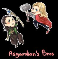 Asgardians Bros by raidenz