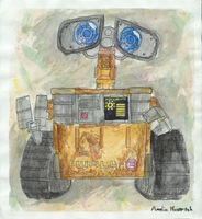 WALL-E in colors by chaos-controlled-123