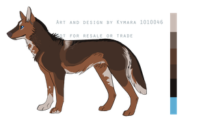 American Indian Dog- AUCTION all currencies by Psitt