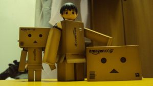 Little Danbo Family by zhuai