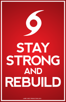 Hurricane Sandy - Stay Strong and Rebuild by luvataciousskull
