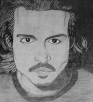 Johnny Depp by Elva-Luthien