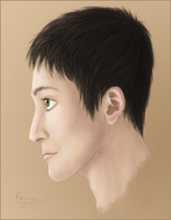 Andrew portrait by KanahaniART