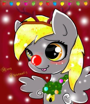 A Derpy Christmas :D by magicalnightstars