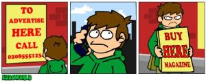 EWcomics No.30 - Advert by eddsworld