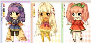 FRUIT Adoptable set 10 - AUCTION - CLOSED by plurain