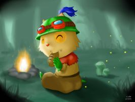 Firecamp Teemo by xiaolee92