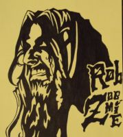 Rob Zombie 1 by chaos-neverthrive