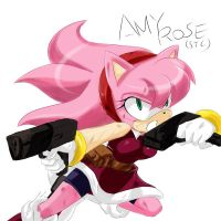 STC AMY ROSE by GaruGiroSonicShadow