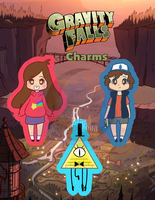Gravity Falls Charms by Crazy-Luna