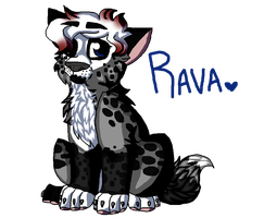 Its a baby Rava by scarletsp33dster