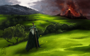 The Lord of the Rings by Brevis--art