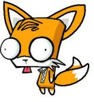 Tails as Gir by gabalillyput42