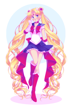Sailor Moon by Emily-Fay