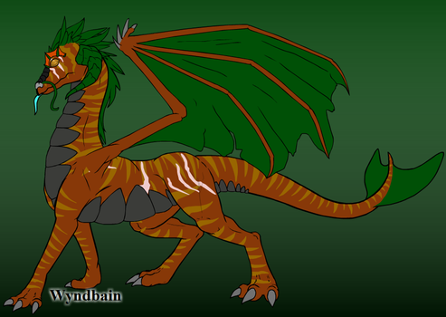 Chris' Dragon by TheWingedOnes
