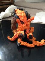 Clay Ifrit back by brynhildr13