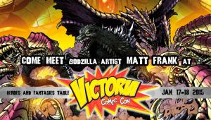 Victoria Comic Con - January 17-18 by KaijuSamurai