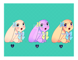 Adoptables Set 5 (OPEN) by Hannamina