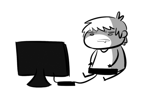 Stick life by WaywardDoodles