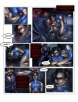 Evil ryu vs chun li pg 3 by Tree-ink