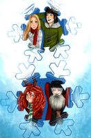 The Big four - Merry Christmas by Ceres97