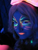 Rave Alice under Black Light by Faith-NG32