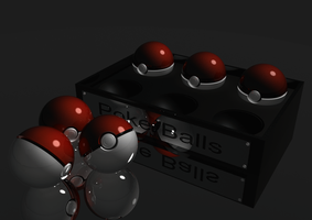 another pokeball render by Alucus