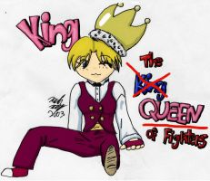 King- QUEEN of Fighters by analoren