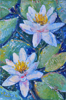 Water Lilies by wall2bloom