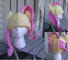 Fluttershy Hat by MermaidSoupButtons