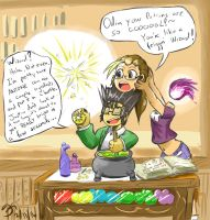 Odin's Potential Potions! by MinionKing