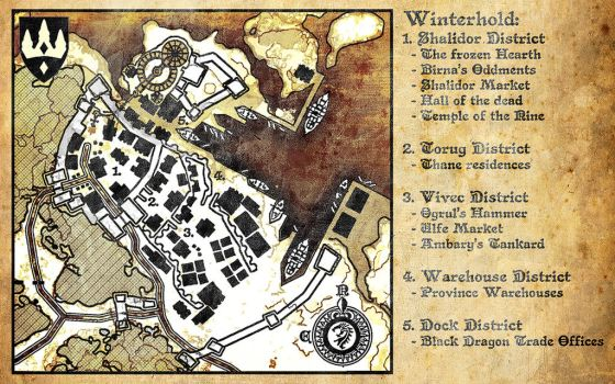 Winterhold Map 4E214 by DovahFahliil