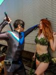 Nightwing and Poison Ivy! by TackoonXD
