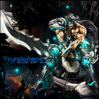 TRyndamere TAG by gustavo11s
