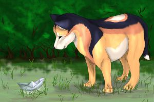 Paperboat by CaledonCat