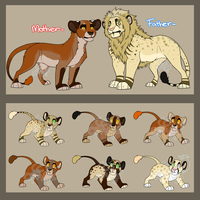 Lion Breedable .:Pairing #2:. .:1/8 Open:. by ProtoSykeLegacy