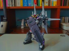 Re-Renegade Gundam (Action Shot 1) by chriskim8365
