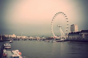 London Eye by stekkes