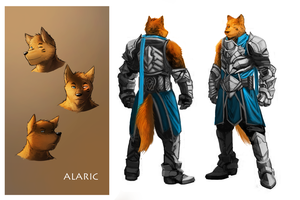 Alaric Ref Sheet by 7THeaven