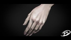 Speed Painting - A hand by Zaziky