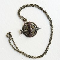Steampunk Necklace by NBetween