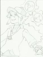 N looks better in Black and White by Nezumechan