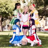 Inner Senshi Unite by daydreamernessa